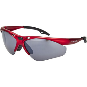 XLC Tahiti SG-C02 Okulary, red/mirrored